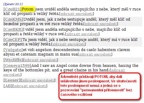 2010 11 30 190407 adventisticka casova posloupnost - Příklad manipulace překladu v NBK (Bible - překlad 21. století - Bible 21)