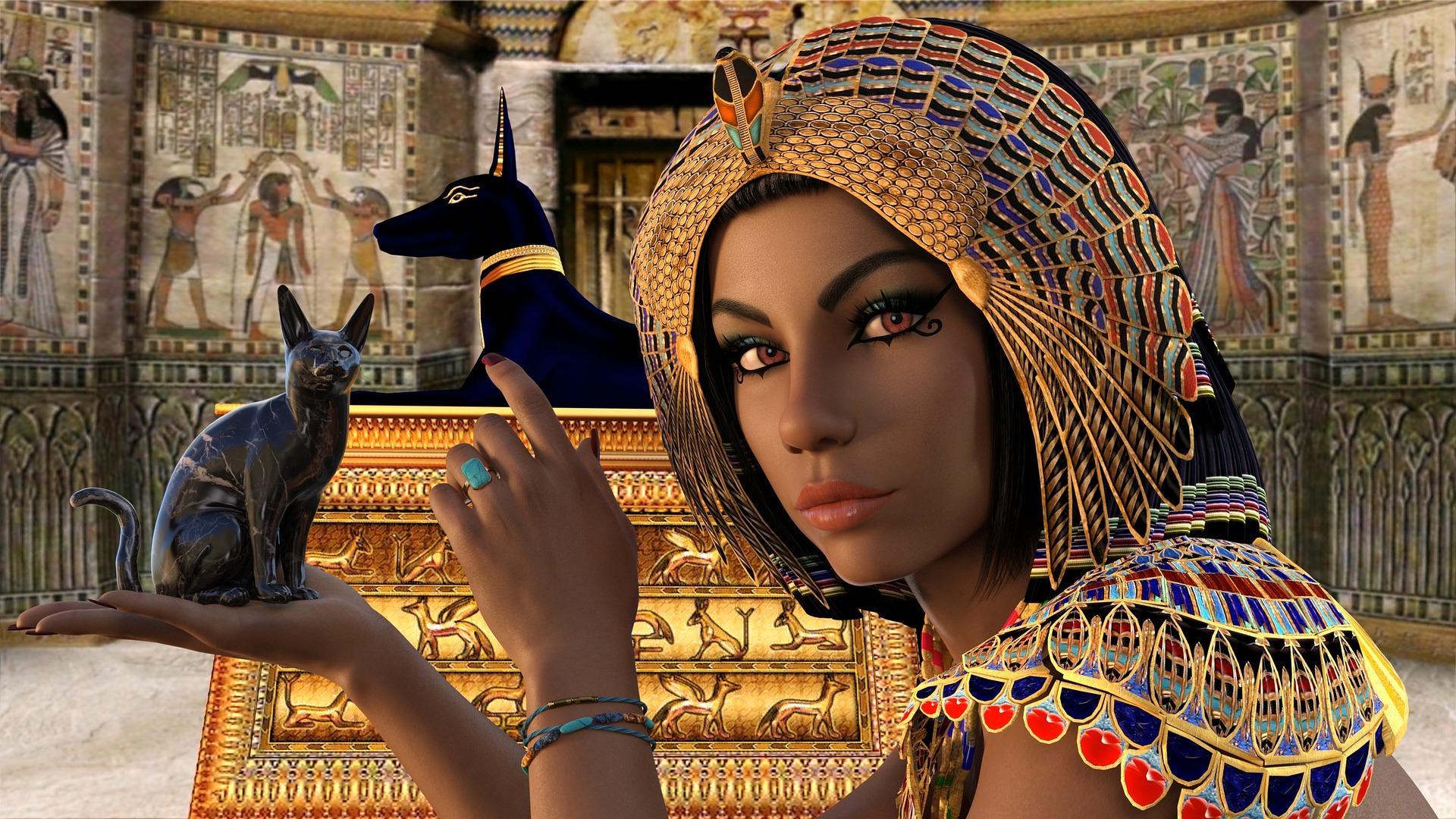 egypt 2824582 1920 - Podobenství o Královně a Správcích
