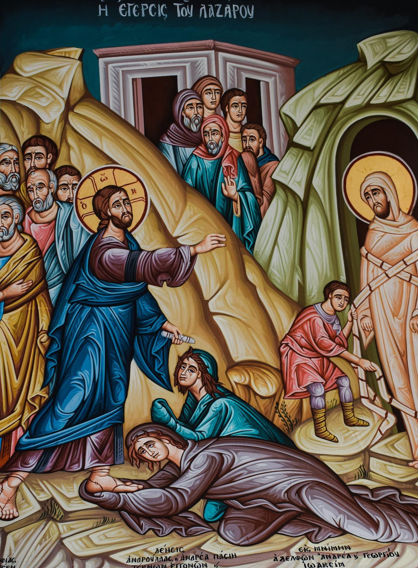 the raising of lazarus 2069644 1920 - Podobenství o Lazarovi