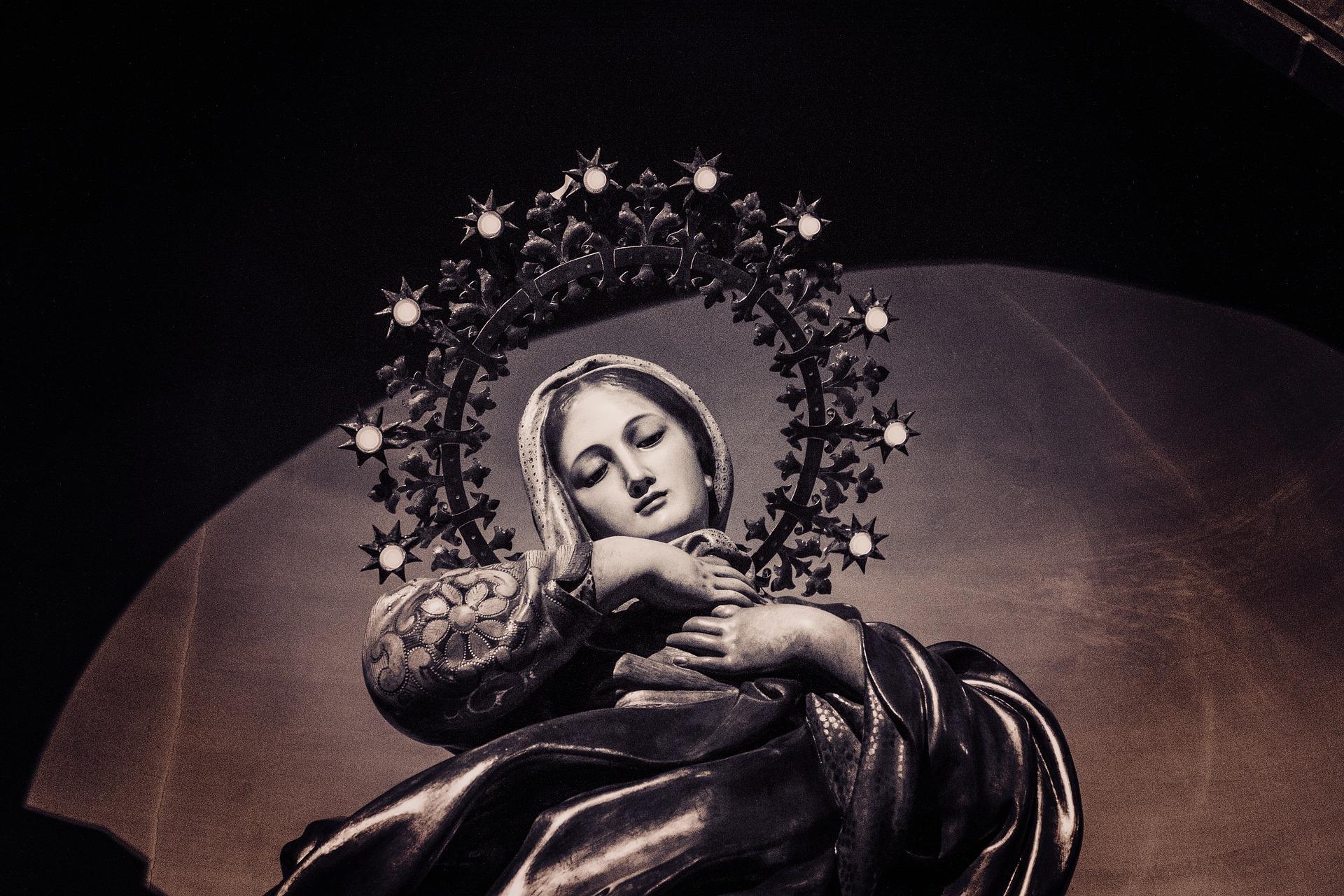 virgin mary 1907194 1920 - Neposkvrněné početí Marie ve světle Bible