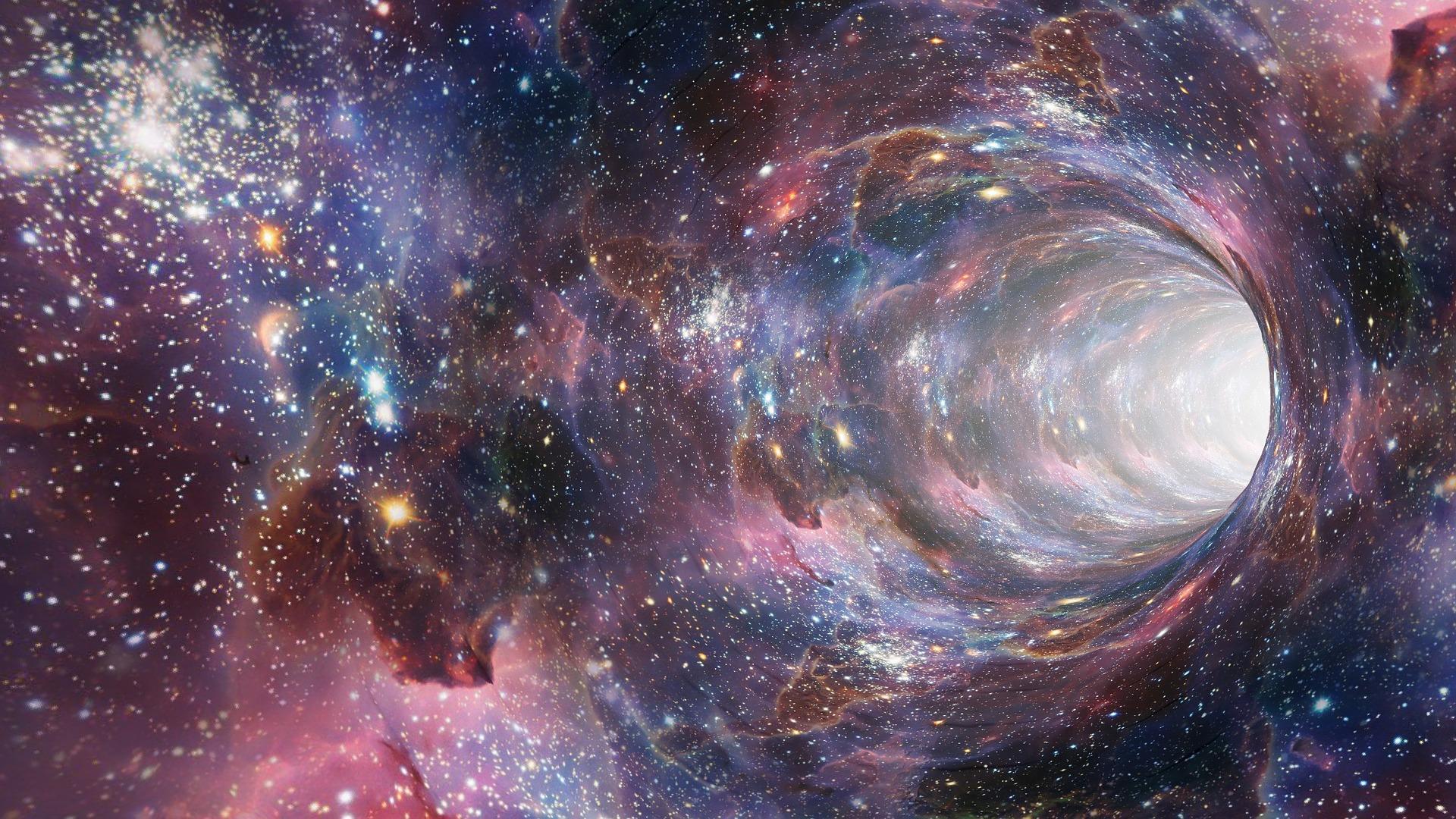 wormhole 2514312 1920 - The Secret, nauka stejné přitahuje stejné, Rhonda Byrne